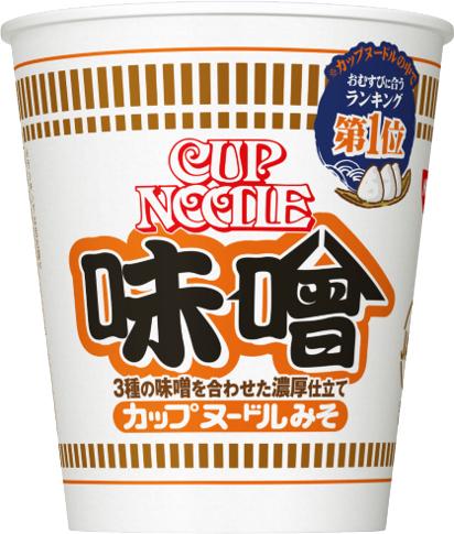 「カップヌードル味噌」の画像検索結果