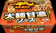 明星 一平ちゃん夜店の焼そば 太麺甘濃ソース