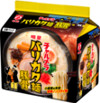 「明星 チャルメラ バリカタ麺豚骨 5食パック」