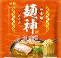 「明星 麺神 神太麺×旨 味噌」