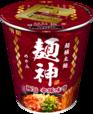 「明星 麺神カップ 極旨辛豚味噌」