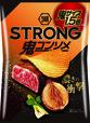 「湖池屋STRONG ポテトチップス 鬼コンソメ 鬼サイズ1.5倍」