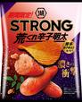 「湖池屋STRONG ポテトチップス 荒くれ辛子明太」