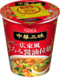 明星 中華三昧タテ型 広東風とろみ醤油拉麺