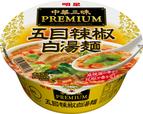 明星 中華三昧PREMIUM 五目辣椒白湯麺