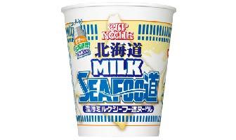 「カップヌードル 北海道濃厚ミルクシーフー道ヌードル」(11月8日発売)