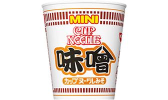 「カップヌードル 味噌 ミニ」