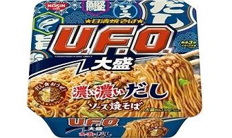 「日清焼そばU.F.O.大盛 濃い濃いだしソース焼そば」(3月2日発売)
