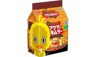 「チキンラーメン 具付き3食パック アクマのキムラー」(3月上旬発売)
