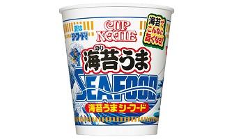 「カップヌードル 海苔うまシーフード ビッグ」(8月3日発売)