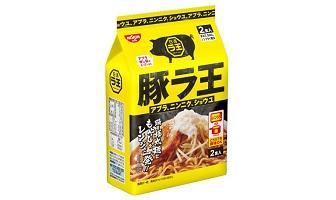 「日清豚ラ王 アブラ、ニンニク、ショウユ 2食パック」(9月20日発売)