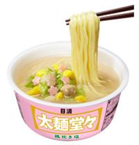 日清太麺堂々 鶏炊き塩シズル