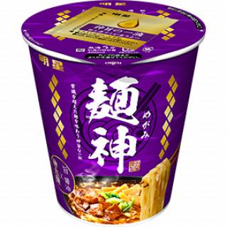 明星 麺神カップ 神太麺×旨 醤油