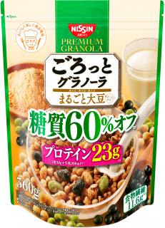 ごろっとグラノーラ まるごと大豆 糖質60%オフ 360g