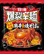 「日清爆裂辛麺 韓国風 極太大盛激辛焼そば」