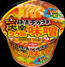 日清デカうま 大辛コク旨味噌
