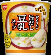 「とろけるおぼろ豆腐 おとうふの旨だし豆乳スープ」