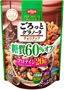 ごろっとグラノーラ 糖質60%オフ チョコナッツ 350g