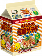 「チキンラーメン 豆腐サラダ 鶏旨しおだれ味 3セット入」