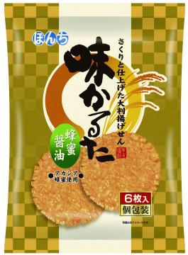 6枚 味かるた 蜂蜜醤油