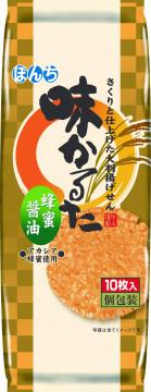 10枚 味かるた 蜂蜜醤油