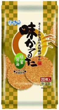 20枚 味かるた 蜂蜜醤油
