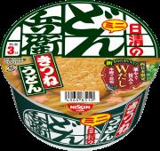 日清のどん兵衛 きつねうどんミニ (西日本仕様)
