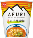 日清 THE NOODLE TOKYO AFURI 限定柚子辣湯麺