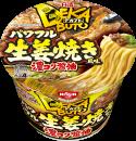 日清デカブト パワフル生姜焼き風味 濃コク醤油