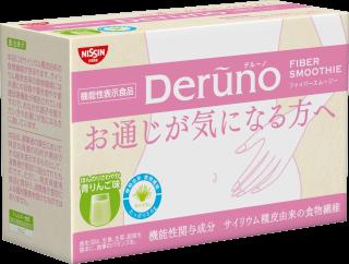 Deruno FIBER SMOOTHIE (デルーノ ファイバー スムージー) 青りんご味 30本入り