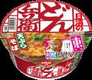 日清のどん兵衛 天ぷらそば 食べ比べ東