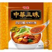 明星 中華三昧 四川風味噌拉麺