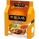 明星 中華三昧 四川風味噌拉麺 3食パック