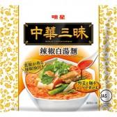明星 中華三昧 辣椒白湯麺