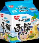 日清北海道のラーメン屋さん 函館しお味 (北海道限定) 5食パック