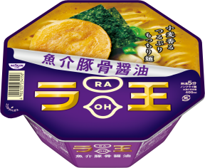 日清ラ王 魚介豚骨醤油