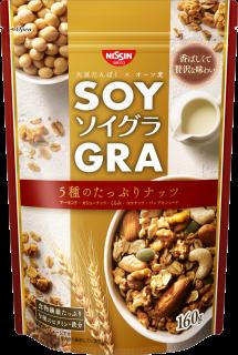 ソイグラ 5種のたっぷりナッツ
