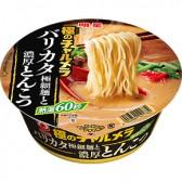 明星 極のチャルメラ バリカタ極細麺と濃厚とんこつ