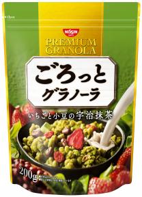 ごろっとグラノーラ いちごと小豆の宇治抹茶 200g