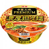 明星 中華三昧PREMIUM 濃厚担々麺
