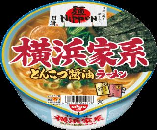 日清麺NIPPON 横浜家系とんこつ醤油ラーメン 2食