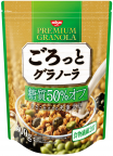 ごろっとグラノーラ 糖質50%オフ きなこ仕立ての充実大豆 400g