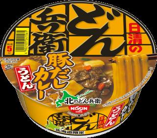 北のどん兵衛 カレーうどん [北海道] 1食