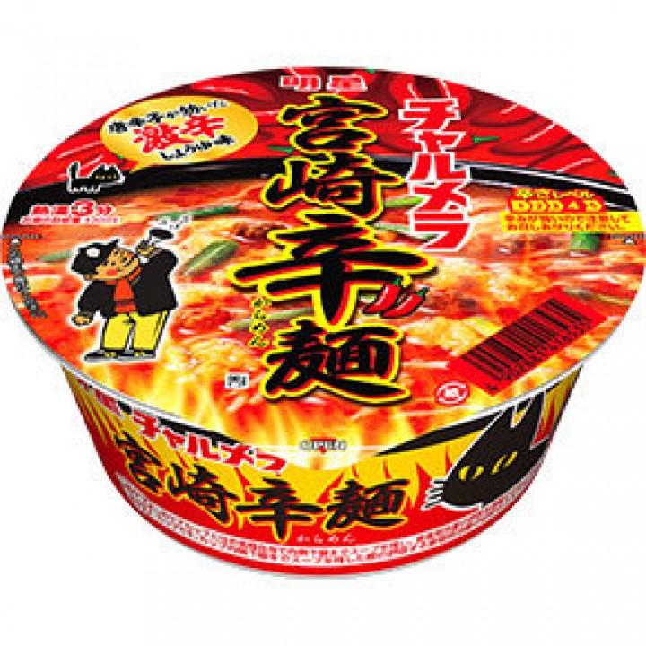 明星 チャルメラどんぶり 宮崎辛麺 (みやざきからめん)   明星食品