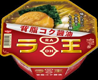 日清ラ王 背脂コク醤油 1食