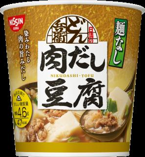 日清麺なしどん兵衛 肉だし豆腐スープ