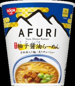 日清 THE NOODLE TOKYO AFURI 限定柚子醤油らーめん