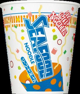 カップヌードル シーフードヌードル 47周年バースデー記念パッケージ 1食