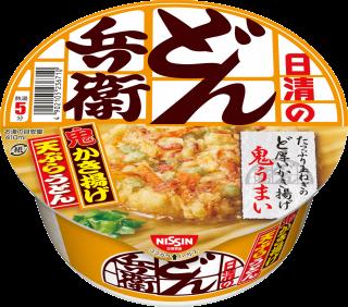 日清のどん兵衛 かき揚げ天ぷらうどん 1食