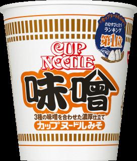 カップヌードル 味噌 1食
